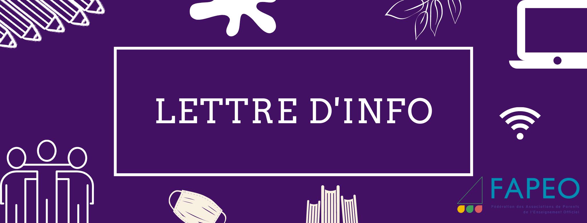 FAPEO_Lettre_Info_2020