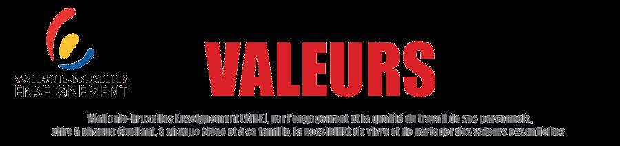 Wallonie-Bruxelles Enseignement : Charte des valeurs