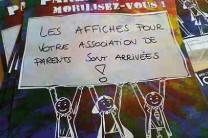 Associations de parents ! Affichez vous dans votre école !!!