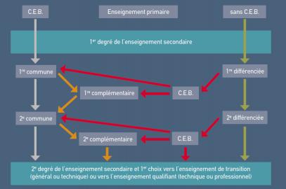 Analyse 2014 – 14/15. Le premier degré du secondaire, un vrai labyrinthe… Indices pour le comprendre