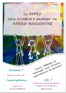 Apéro-rencontre FAPEO Luxembourg 2