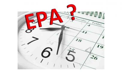 Quel horaire pour l'EPA ?