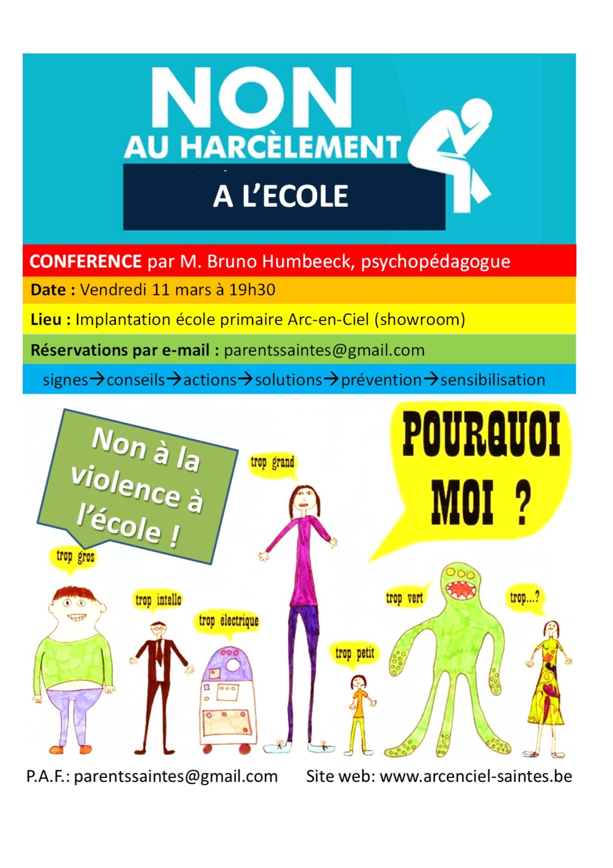 flyers harcelement