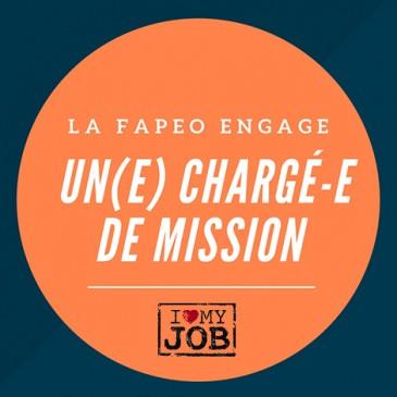 La FAPEO engage pour un remplacement un(e) chargé-e de mission