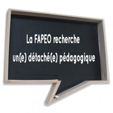 La FAPEO recherche un(e) détaché(e) pédagogique