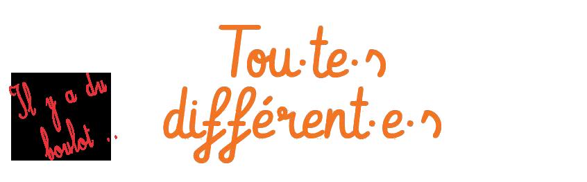 Tou·te·s différent·e·s