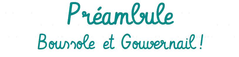 mémorandum fapeo 2019 Préambule Boussole et Gouvernail