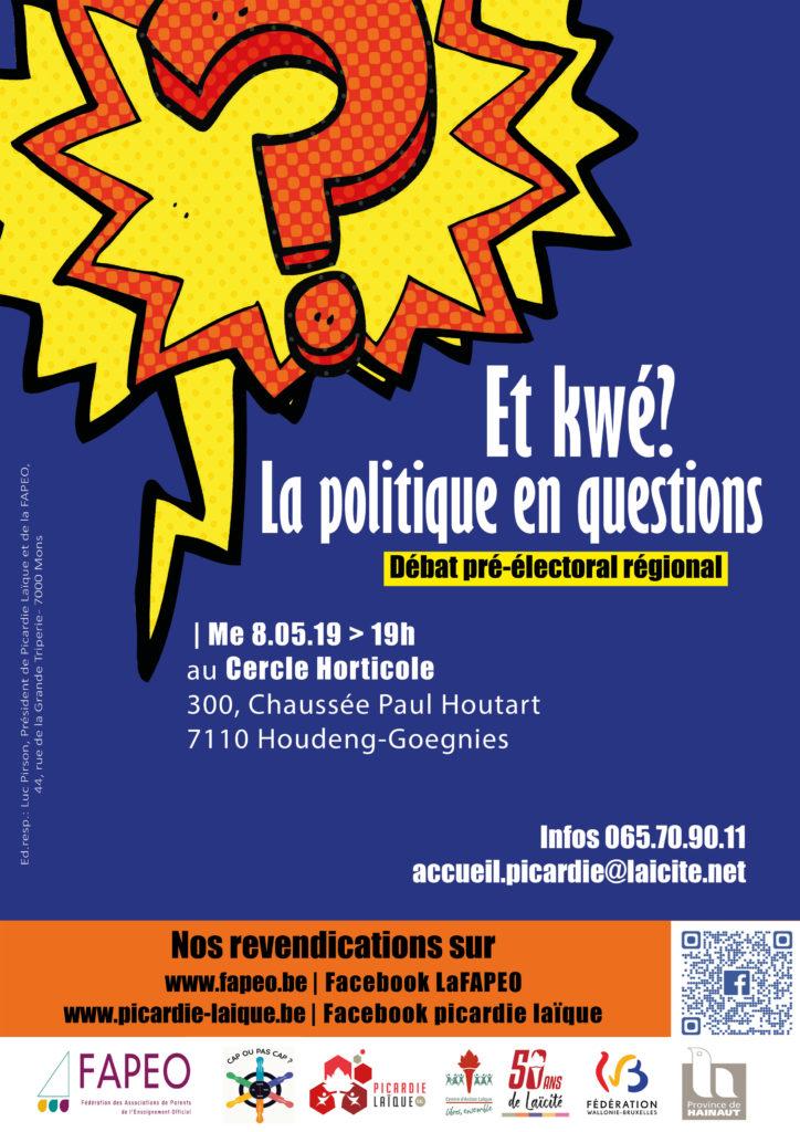 La politique en question Affiche A4