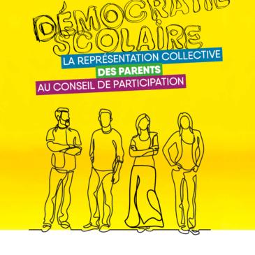 Démocratie scolaire – La représentation collective des parents au conseil de participation
