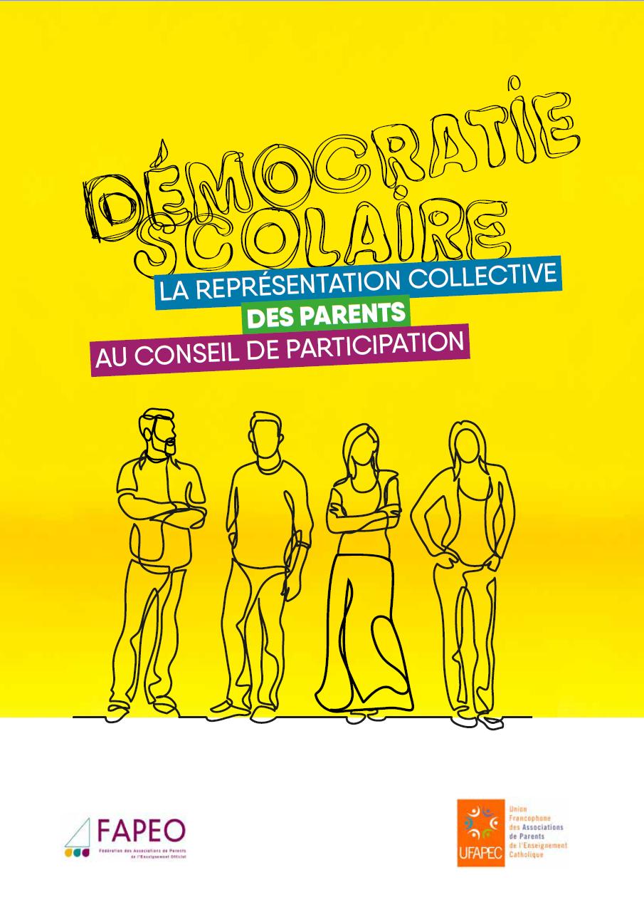 Démocratie scolaire, la représentation collective des parents au conseil de participation