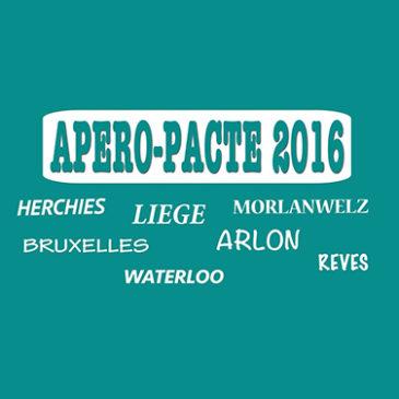 Apéro-Pacte 2016 :  Les comptes rendus