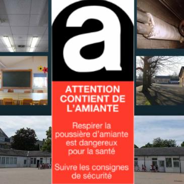 Analyse 2018 – 6/15 : «Amiante dans nos écoles : Encore combien de kilos de poison sous le plafond ?»