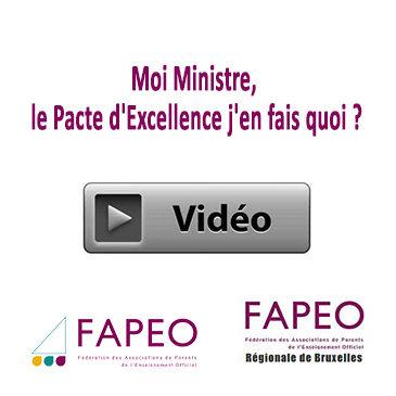 Moi Ministre, le Pacte d'Excellence j'en fais quoi ?