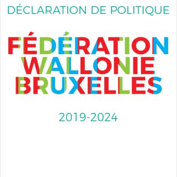 Déclaration de Politique FWB 2019-2024