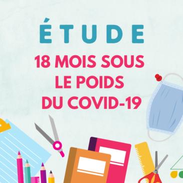 UNE ÉPOPÉE SCOLAIRE DE 18 MOIS SOUS LE POIDS DU COVID-19